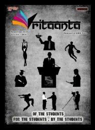 Vritaanta Volume 3 Issue 2 November 2016