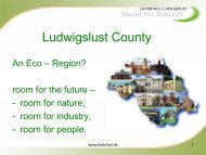 What we did - EcoRegion