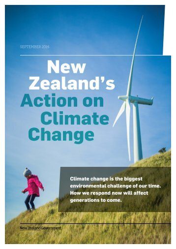 New Zealand's Action on Climate Change