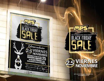 Promociones Black Firday Nov 25 MPS