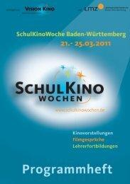 Programmheft_SKW_2011 - SchulKinoWoche BW