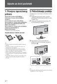 Sony KDL-46EX402 - KDL-46EX402 Istruzioni per l'uso Croato - Page 4