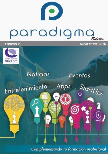 Boletin Paradigma Edicion Noviembre