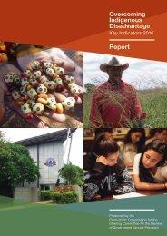 Indigenous Disadvantage Report
