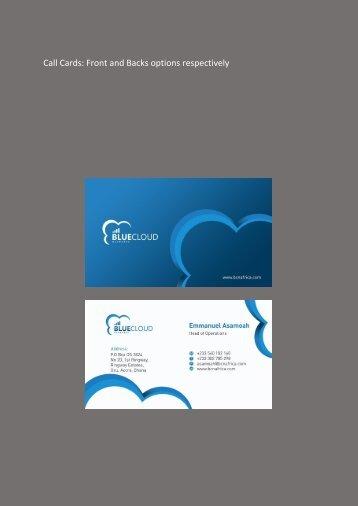 Blue items (5)