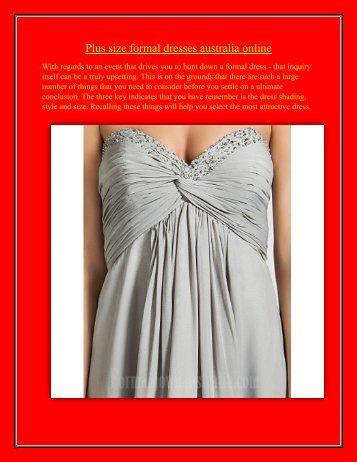 plus-size-formal-dresses-australia-online