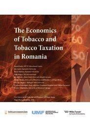 The Economics of Tobacco and Tobacco Taxation in Romania