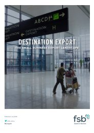 DESTINATION EXPORT
