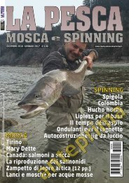 La Pesca Mosca e Spinning 6/2016