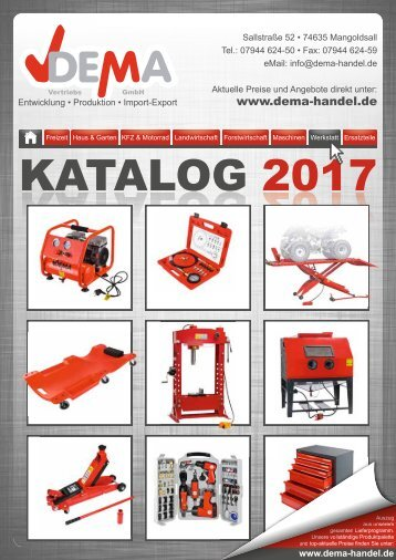 Dema Katalog 2017