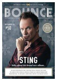 Bounce Magazine December 2016