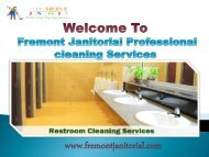 Home Cleaning in Fremont, CA|Fremont janitorial