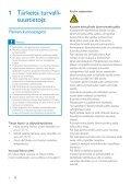 Philips GoGEAR Baladeur MP3 - Mode d'emploi - FIN - Page 3