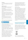 Philips GoGEAR Baladeur MP3 - Mode d'emploi - FIN - Page 4