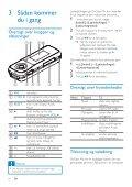 Philips GoGEAR Baladeur MP3 - Mode d'emploi - DAN - Page 7