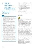 Philips GoGEAR Baladeur MP3 - Mode d'emploi - POL - Page 3