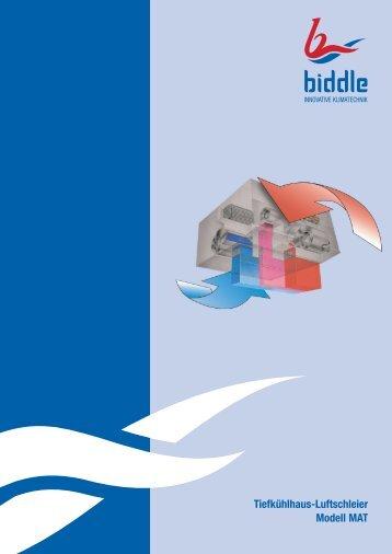 Tiefkühlhaus-Luftschleier - Modell MAT.pdf - KEGA Kälte & Klima