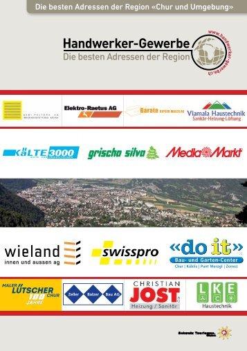 Handwerker & Gewerbe - Die besten Adressen der Region