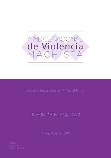 de Violencia MACHISTA
