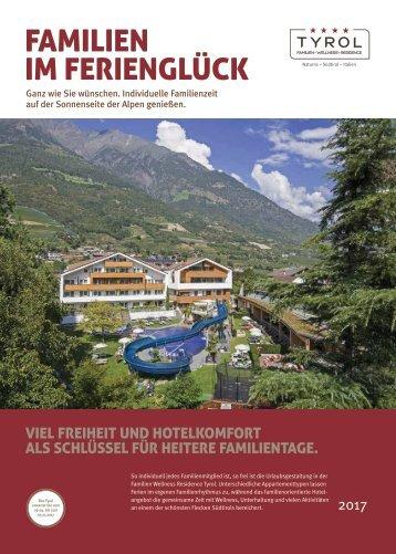Hausprospekt Familien Wellness Residence Tyrol