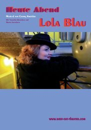 Lola Blau Lola Blau - West-Ost Theater