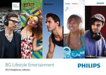 Philips Casque stéréo avec micro Bluetooth - Brochure - ENG