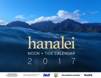 Hanalei Moon & Tide Calendar 2017