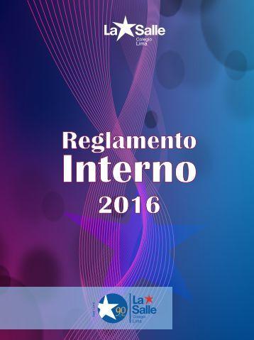 Reglamento 2016