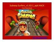 Subway Surfers_v1.63.1.APK HACK FREE DOWNLOAD