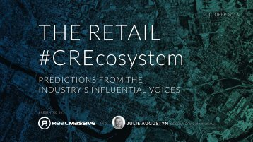 THE RETAIL #CREcosystem