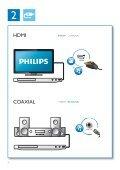 Philips Lecteur Blu-ray / DVD - Mode d'emploi - DAN - Page 4