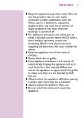 Philips Sèche-cheveux - Mode d'emploi - FIN - Page 5