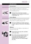 Philips Sèche-cheveux - Mode d'emploi - ENG - Page 7