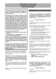 Amtsblatt Kultus und Unterricht Nr. 7/2010 vom 8. April ... - Kultusportal