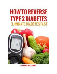 How to Reverse Type 2 Diabetes by Eleanor Williams