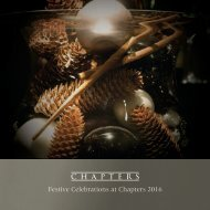 Festive Celebrations at Chapters 2016