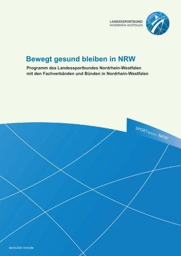 Bewegt gesund bleiben in NRW - Kreissportbund Recklinghausen eV