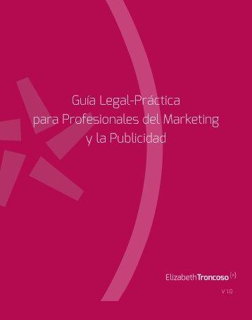 Guía Legal-Práctica para Profesionales del Marketing y la Publicidad