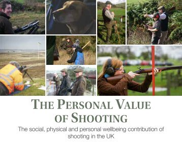 THE PERSONAL VALUE SHOOTING