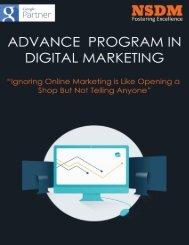 Advance Program In Digital Marketing