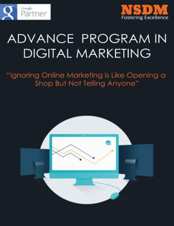 Advance Program In Digital Marketing