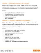 Wordpress Course - Page 2