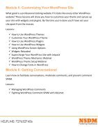 Wordpress Course - Page 4