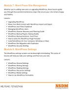 Wordpress Course - Page 5