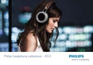 Philips Écouteurs intra-auriculaires - Brochure - ENG
