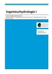 Skript zur Vorlesung Ingenieurhydrologie I - ihwb - Technische ...