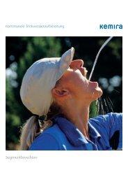 Kommunale Trinkwasseraufbereitung Segmentbroschüre - Kemira