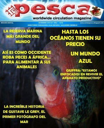 REVISTA PESCA DICIEMBRE 2016