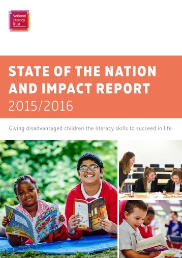STATE OF THE NATION AND IMPACT REPORT 2015/2016