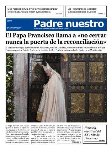El Papa Francisco llama a «no cerrar nunca la puerta de la reconciliación»